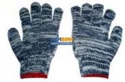 Găng tay sợi mầu