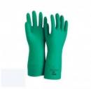 Găng tay cao su chống hóa chất, axid mầu xanh  - Malaysia