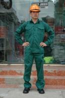 Quần áo Kaki Nam Định loại 1 - Mầu xanh kếp