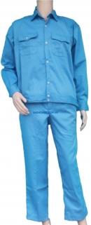 Quần áo Kaki Nam Định loại 1 - Mầu xanh hòa bình đậm