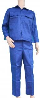 Quần áo Kaki Nam Định loại 1 - Mầu xanh công nhân