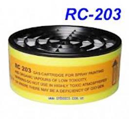 Phin lọc vô cơ - RC203 (Dùng cho mặt nạ Đài Loan Parkson Blue Eagle)